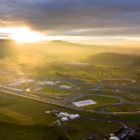 Sunrise at the Autodromo Miguel E. Abed