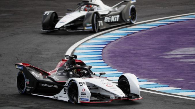 Formula E. Uno-due Audi guidato da di Grassi dopo la penalità a Wehrlein e Porsche