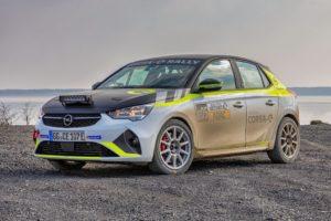 L'infrastruttura mobile di ricarica per la Opel Corsa-e Rally