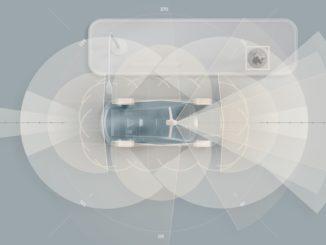 Il successore elettrico della Volvo XC90 con tecnologia LiDAR