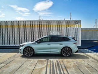 Consegne del SUV Škoda Enyaq iV certificato CO2 neutrale