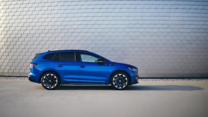 Anteprima italiana di Nuovo Škoda Enyaq Sportline iV