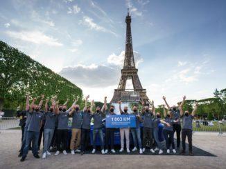 Toyota Mirai batte il record mondiale di autonomia per auto a idrogeno