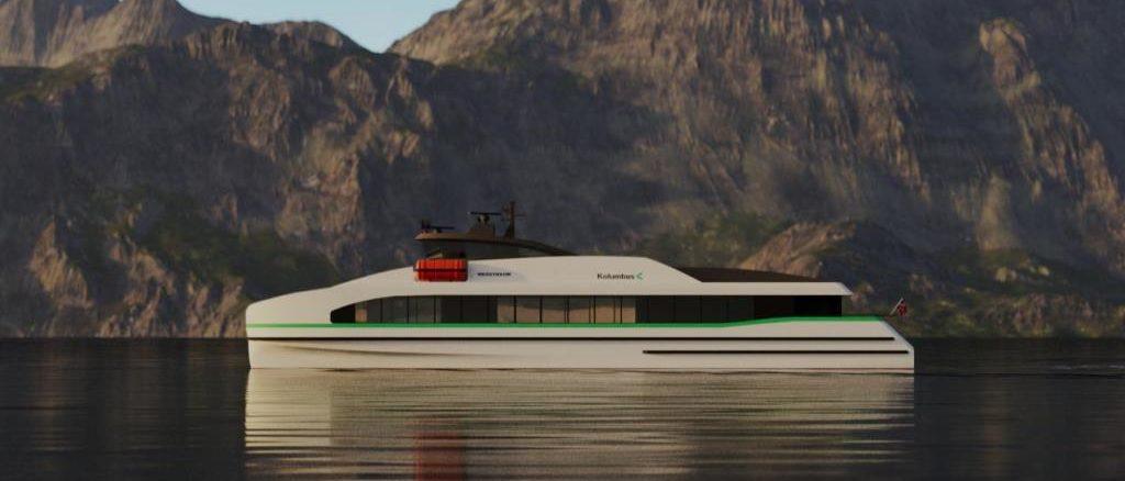 Inizio della costruzione del primo traghetto veloce a zero emissioni al mondo