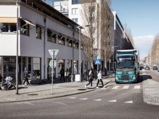 Il suono dei camion elettrici Volvo Trucks