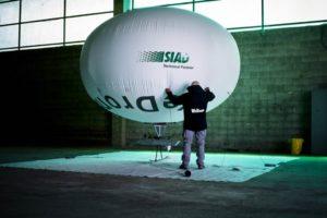 Testato con successo il primo prototipo di dirigibile WeDrone