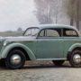 Kadett, zweitürige Limousine 1938
