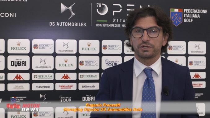 DS Automobiles title sponsor dell'Open D'Italia di golf