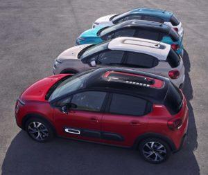 Nuova Citroën C3 ti permette di personalizzare per differenziarsi