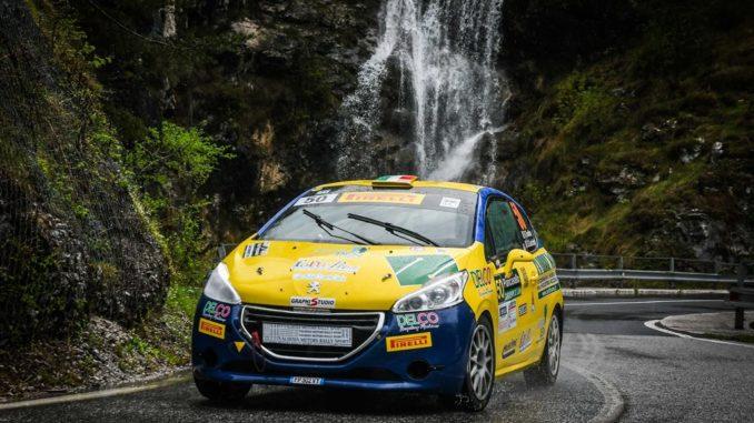 Peugeot Competition 208 Rally Cup PRO: Giovanella e Tondina vincono il Rally del Casentino