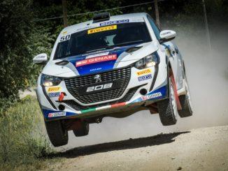 Peugeot ed i fratelli Nucita al Rally di Roma Capitale