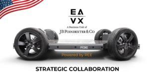 Collaborazione per EV commerciali da REE Automotive e JB Poindexter & Co Business Unit