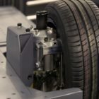 REEcorner technology packs vehicle components into arch of wheel