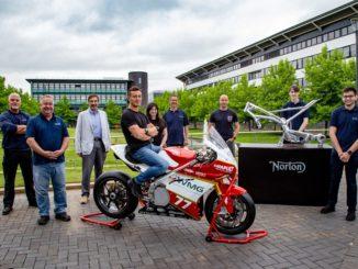 Università di Warwick: ricerca studentesca sulle moto elettriche supportata da Norton Motorcycles
