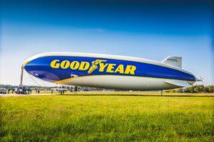 Il dirigibile Goodyear ha sorvolato Milano e Monza