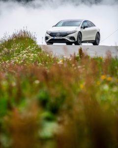 EQS, la prima auto elettrica del segmento Luxury