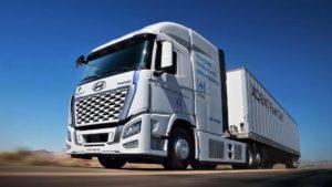 Hyundai testerà in California semirimorchi a idrogeno da 500 miglia di autonomia