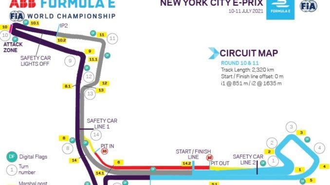 Gli orari della Formula E a New York