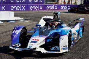 Formula E. Maximilian Günther salta verso la vittoria a New York