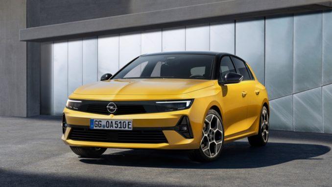 La nuova Opel Astra è dotata anche da propulsore ibrido