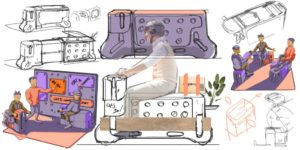 Ford Fund Smart Mobility Challenge: vince la panchina motorizzata