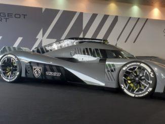Anteprima mondiale della Peugeot 9X8 che correrà nel WEC 2022