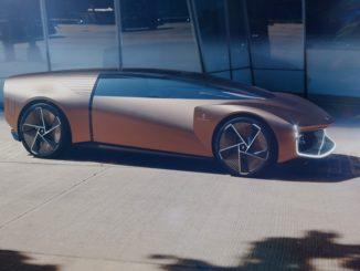 Concept car Pininfarina Teorema sviluppata interamente in virtuale