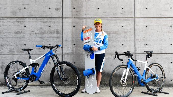 Alleanza di Polini Motori con la medaglia d'oro olimpica Michela Moioli