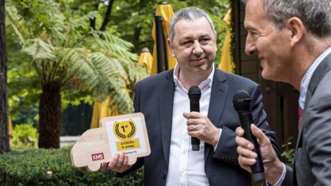Premiato Citroën ë-Jumpy come Veicolo Commerciale Leggero Compatto 2021