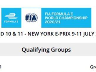 Formula E a New York: ecco i gruppi delle qualifiche di gara 1
