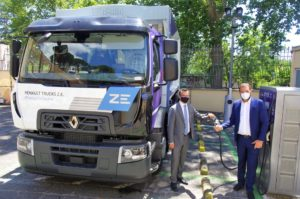 Accordo Renault Trucks ed Enel X per la mobilità elettrica pesante