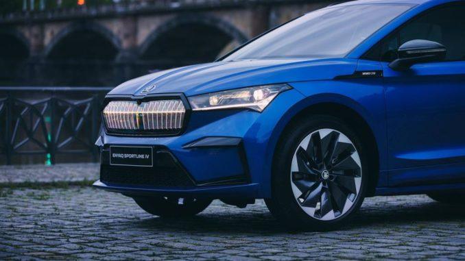 Nuovo Škoda Enyaq iV ora con trazione integrale a controllo elettronico