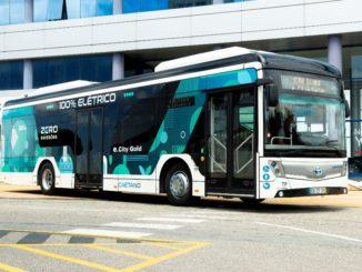 Toyota equipaggia gli autobus a emissioni zero di Caetanobus