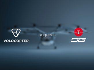 Volocopter acquisisce le attività produttive di DG Flugzeugbau