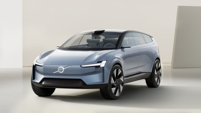 """Il futuro """"full electric"""" di Volvo Cars con Volvo Concept Recharge"""