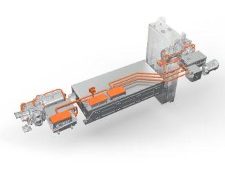 Trasmissioni elettriche personalizzate di Volvo Penta per il camion dei pompieri Rosenbauer