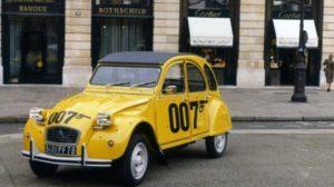 Storia. Il 40esimo anniversario della serie speciale Citroën 2CV 007