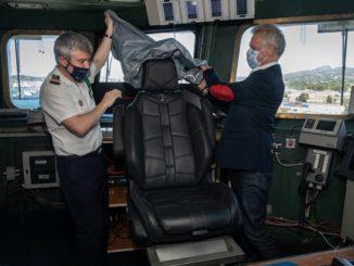 DS Automobiles progetta la postazione del comandante della portaerei Charles De Gaulle