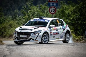 Peugeot Competition208 Rally Cup Top: Lucchesi vince il Rally di Roma Capitale