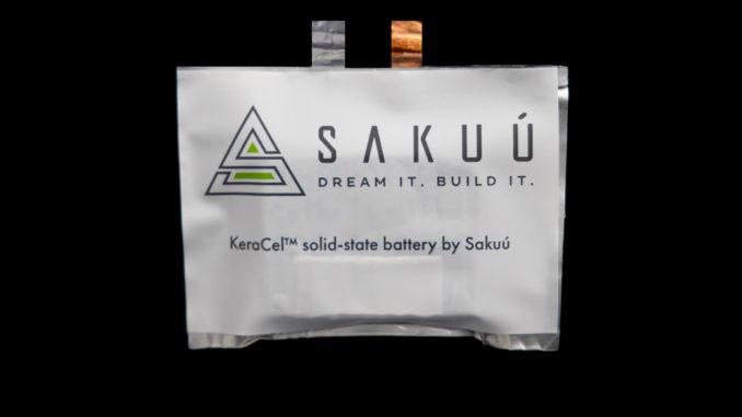 Sviluppo di una nuova batteria da Sakuú Corporation