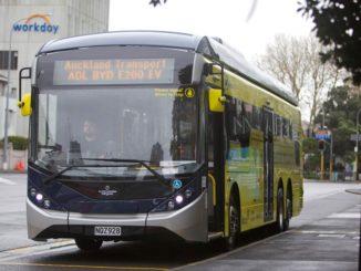Consegna BYD il primo e-bus BYD ADL Enviro200EV XLB in Nuova Zelanda