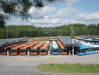 Nobina ha preso 76 ebus BYD per operare a Helsinki