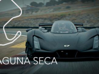Nuovo record sul giro firmato da Czinger 21C al Laguna Seca Raceway