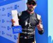 Jean-Eric Vergne (FRA), DS Techeetah, receives his pole position award