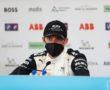 Edoardo Mortara (CHE), Venturi Racing, 2nd position, in the Press Conference