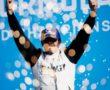 Norman Nato (FRA), Venturi Racing, 1st position, celebrates on the podium