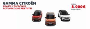 """Citroën rilancia da agosto """"Ecobonus Rottamazione"""""""