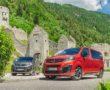 Opel Vivaro-e (links) und Opel Zafira-e Life