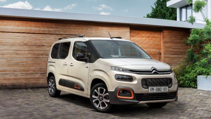 Tutto lo spazio per godersi l'estate con Citroën Berlingo