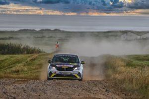 Debutto internazionale in Repubblica Ceca della Opel Corsa Rally4 nel campionato ERC